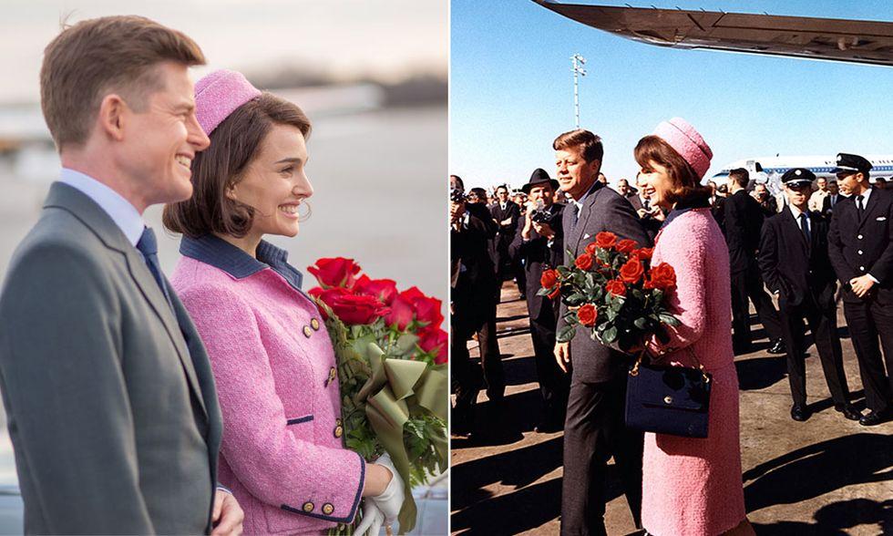 Natalie Portman e Jacqueline Kennedy