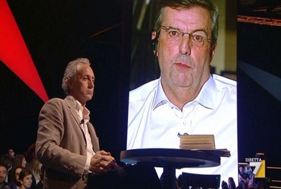 Ascolti 16/10: la lite Santoro -Travaglio non salva il flop