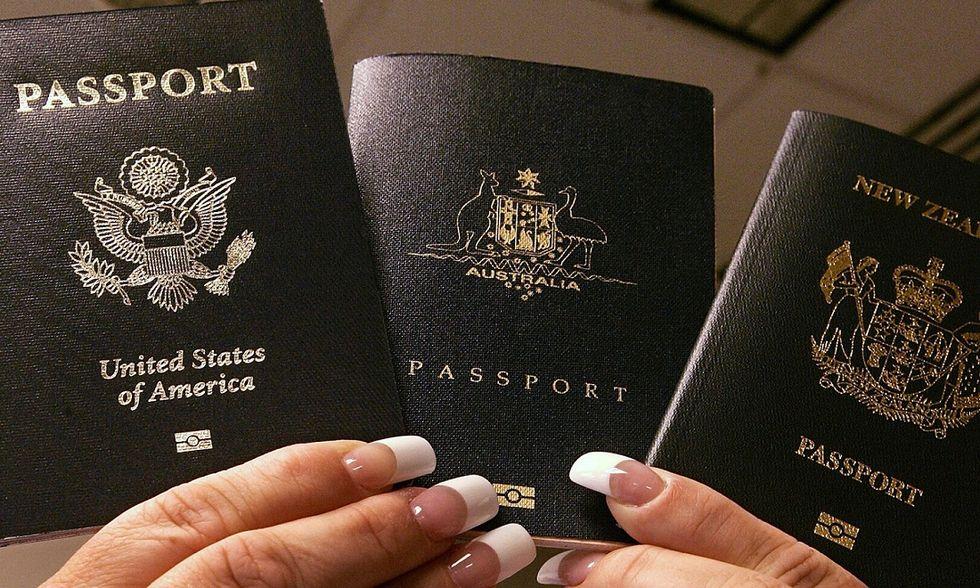Passaporti in vendita in Australia