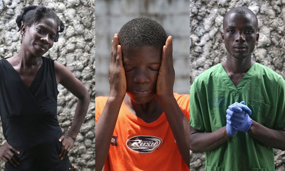 Sopravvissuti a Ebola: ritratti dalla Liberia