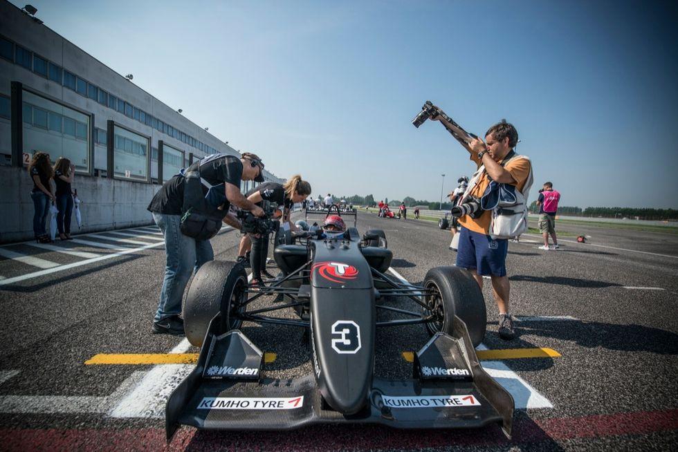 """F2 Italian Trophy"" nelle  foto di Nicola Ughi"