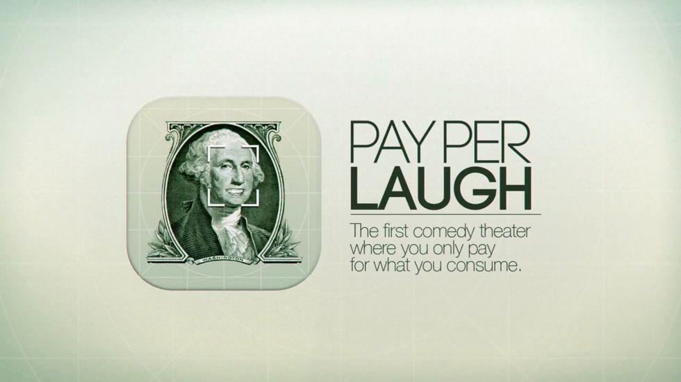 Pay Per Laugh: il riconoscimento facciale approda a teatro