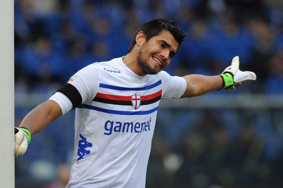 Sampdoria, chi si fida di Sergio Romero?