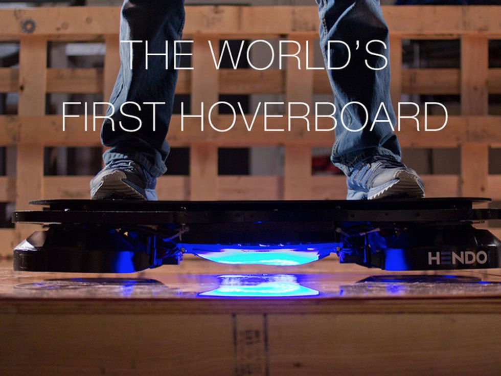 Hendo, lo skateboard fluttuante esiste. Ma ha funzione anti-sismica