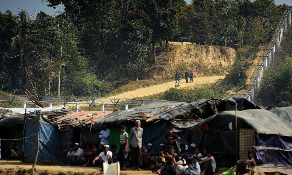 Confine tra Myanmar e Bangladesh
