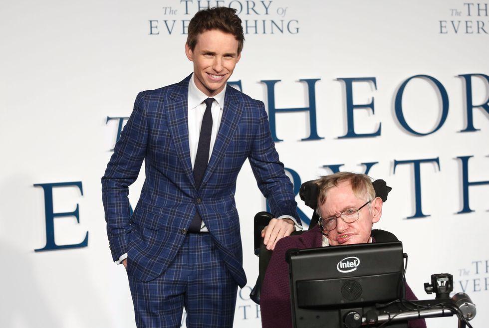 Stephen Hawking, Eddie Redmayne