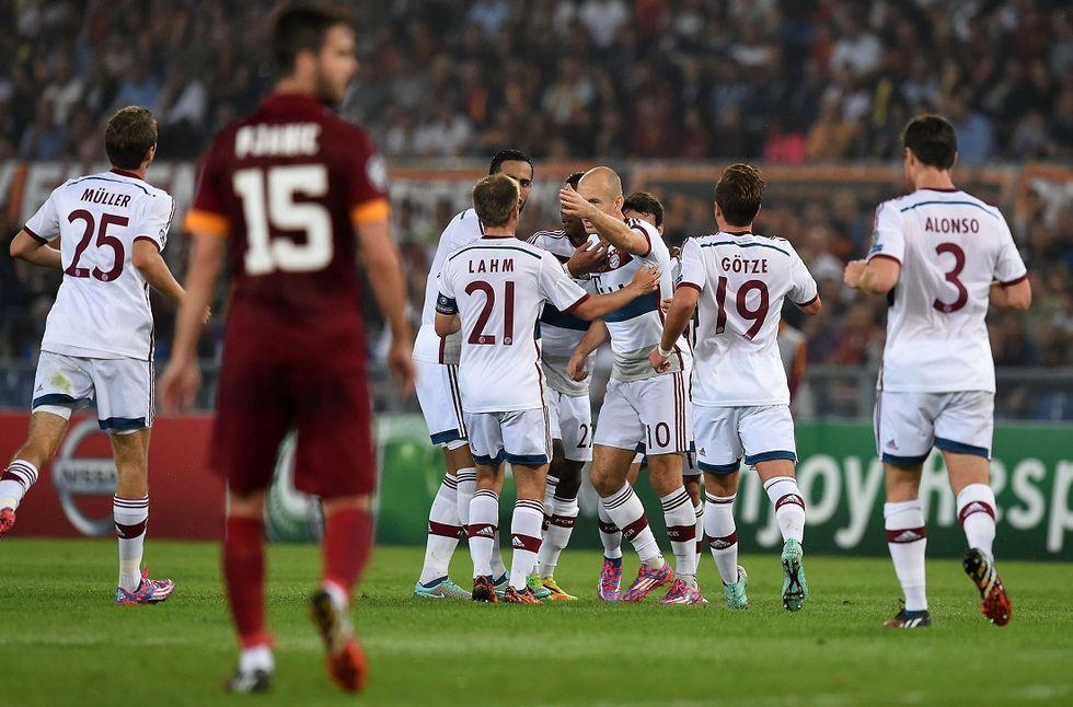 Roma-Bayern Monaco 1-7, la moviola di una disfatta
