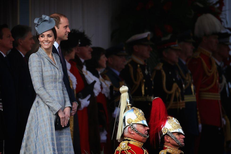 Kate Middleton, prima uscita pubblica in gravidanza