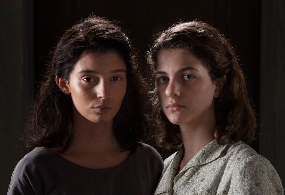 L'amica geniale Gaia Girace (Lila) e Margherita Mazzucco (Elena)