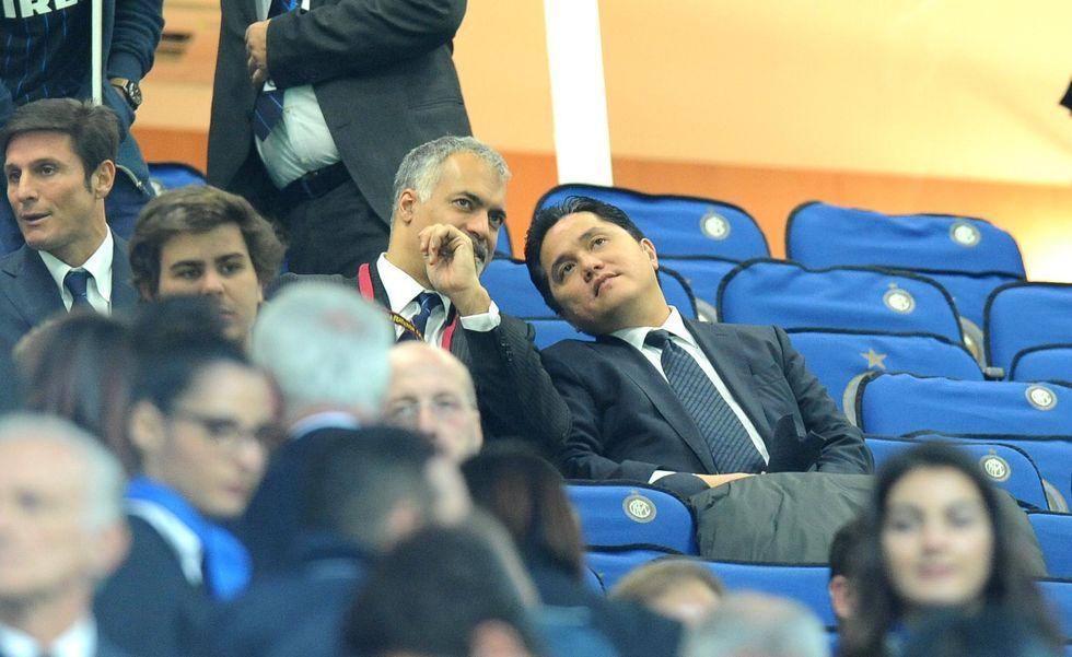 San Siro ignora Moratti e Thohir (e anche Zanetti se ne va)