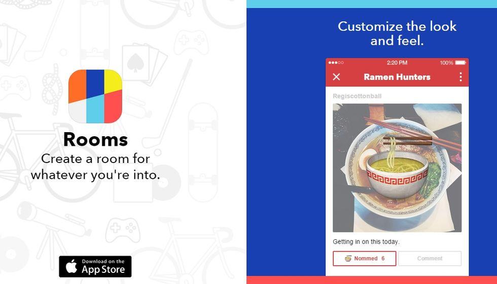 Ecco come funziona Rooms, la nuova app di Facebook