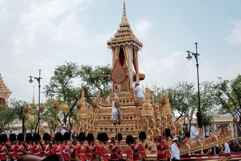 Thailandia: i funerali solenni del re Bhumibol Adulyadej - foto