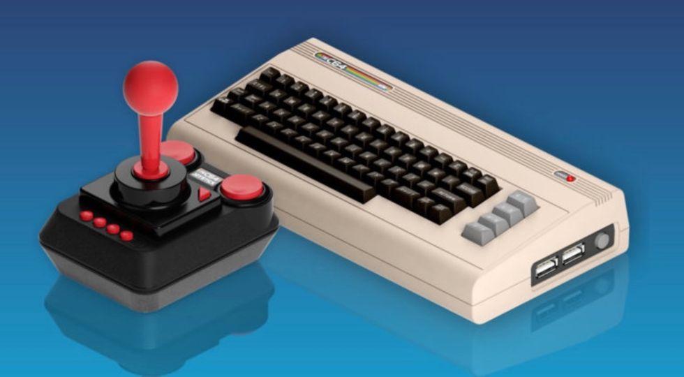 the c64 mini italia