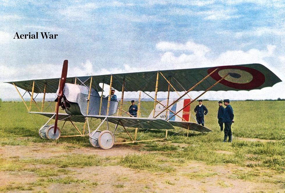 La prima guerra mondiale nelle foto a colori