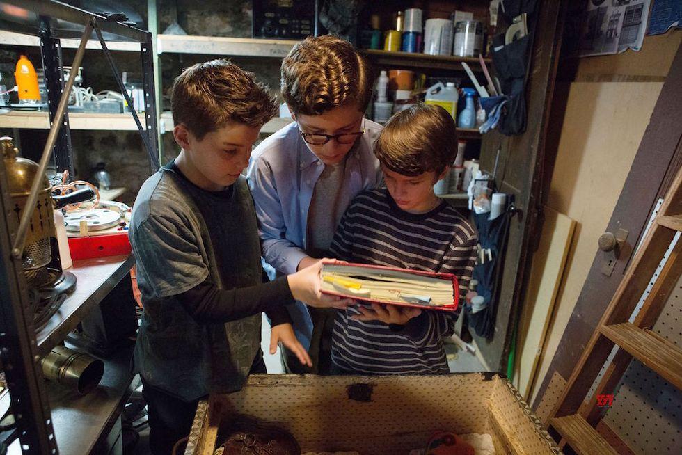 The Dangerous Book for Boys: foto, trailer e cose da sapere