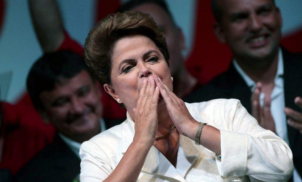 Il Brasile sceglie ancora Dilma Rousseff