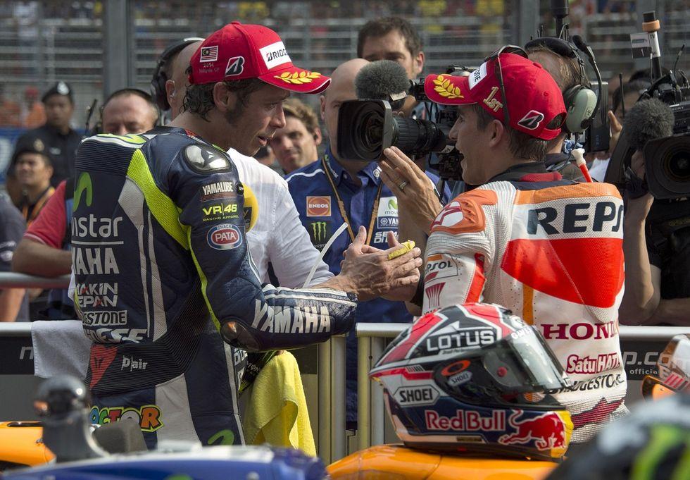 Gp Malesia, le pagelle: Marquez e Rossi da favola