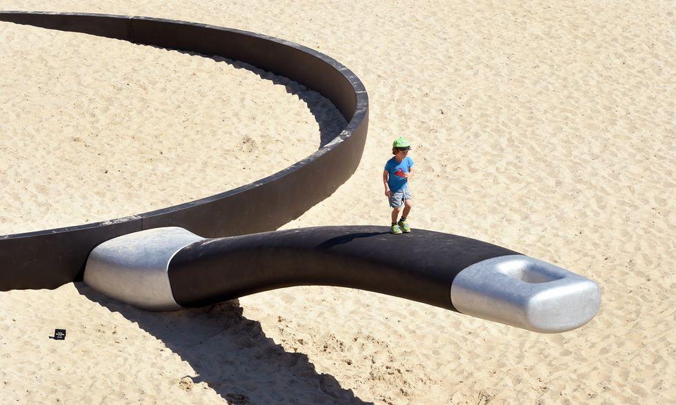 Sydney, sculture open air sulla spiaggia