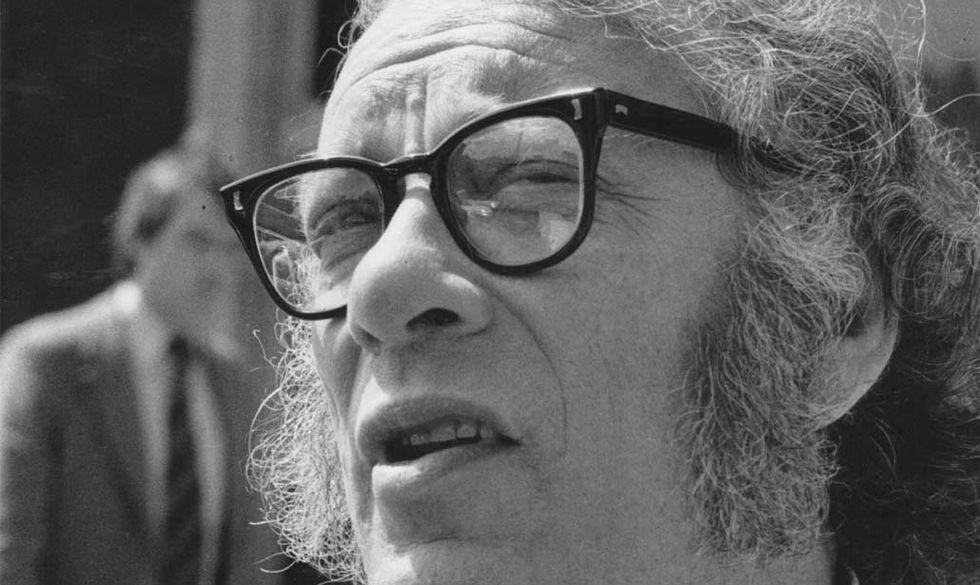 Isaac Asimov spiega le origini della creatività
