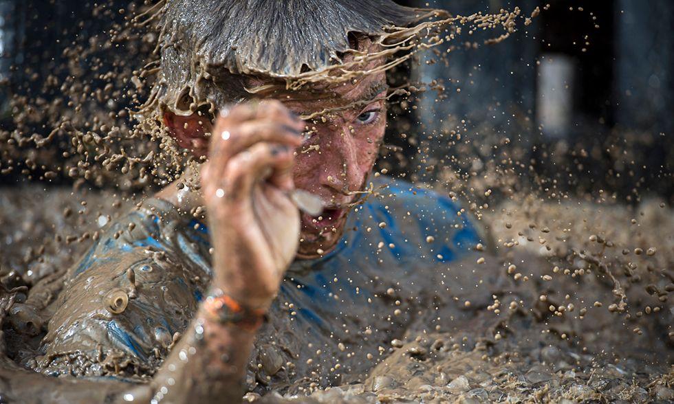 Corsa nel fango con ostacoli a Winchester