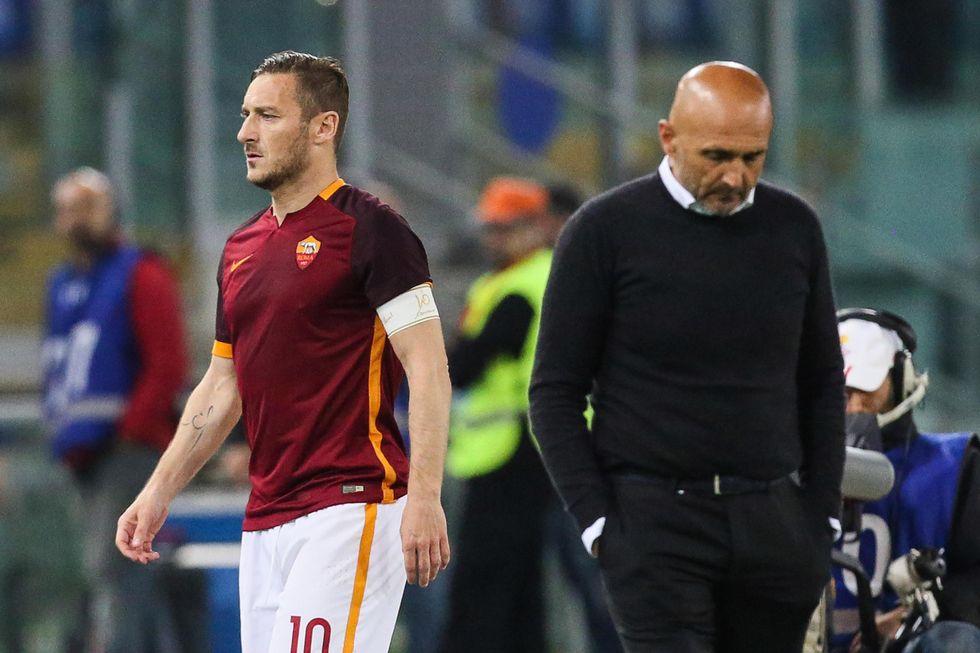 Spalletti e Totti: tutte le frasi di un rapporto che divide Roma