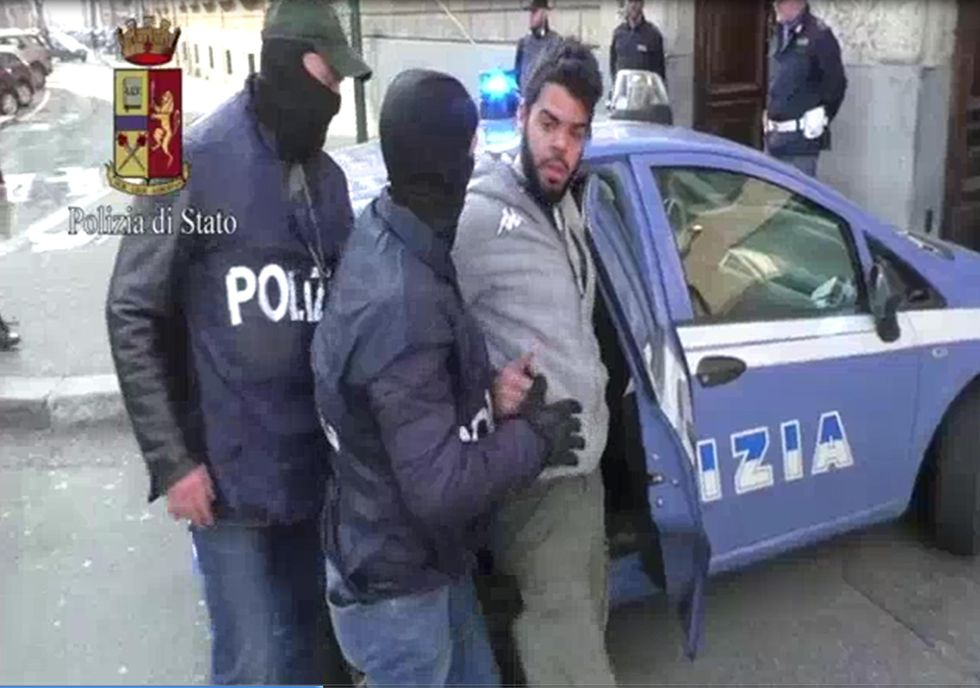 terrorista islamico torino