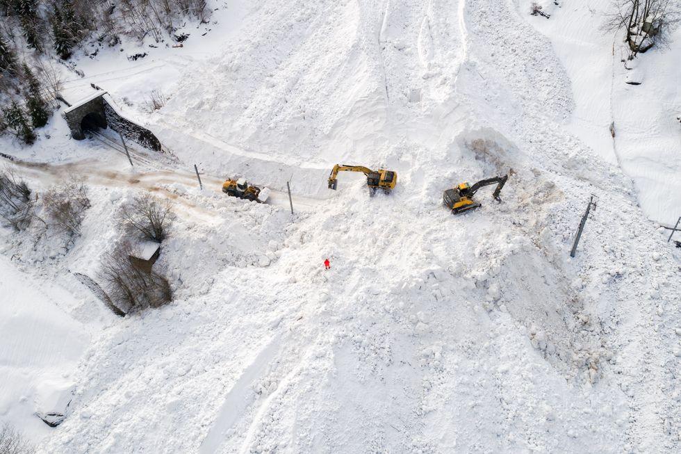 Valanga a Zermatt