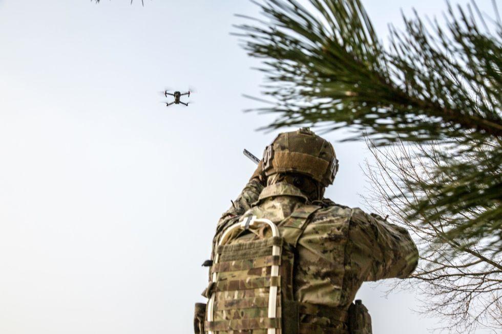 Esercito Italiano drone