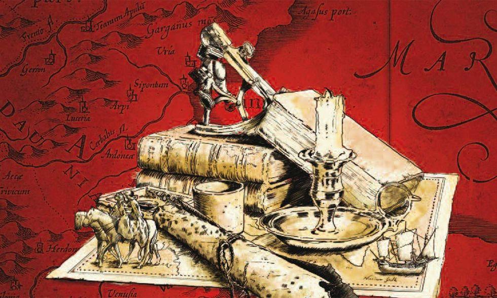 """""""I cacciatori di libri"""", thriller medievale di Raphaël Jerusalmy"""
