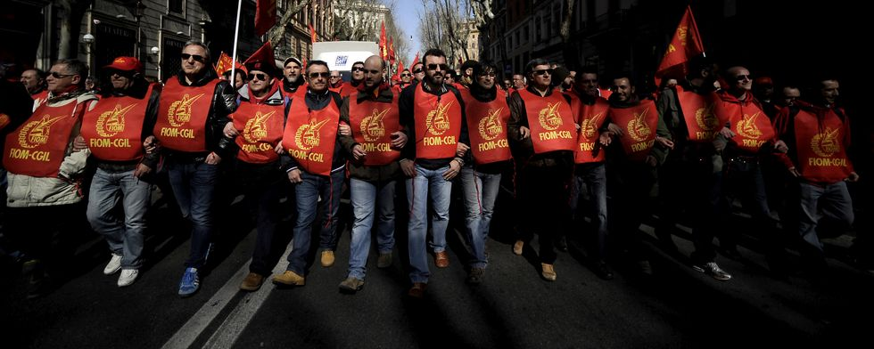 Fiom, proclamato lo sciopero generale contro il Jobs Act