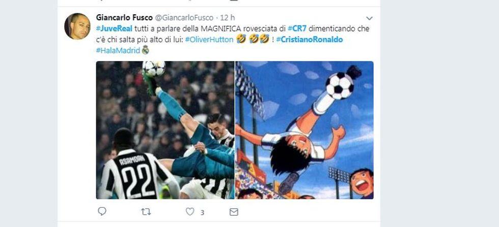 Cristiano Ronaldo show: il gol in rovesciata scatena i social network