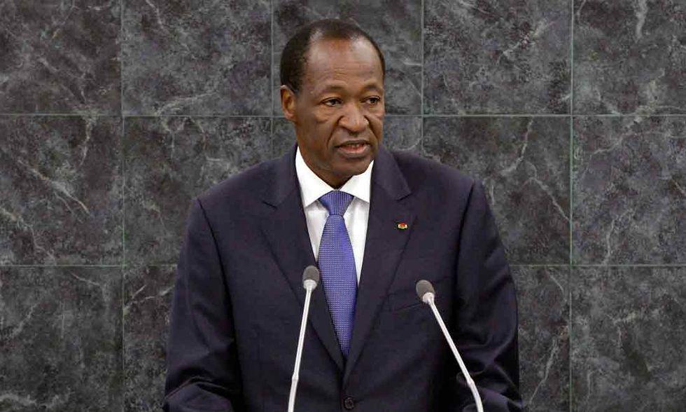 Blaise Compaoré, il presunto assassino di Thomas Sankara