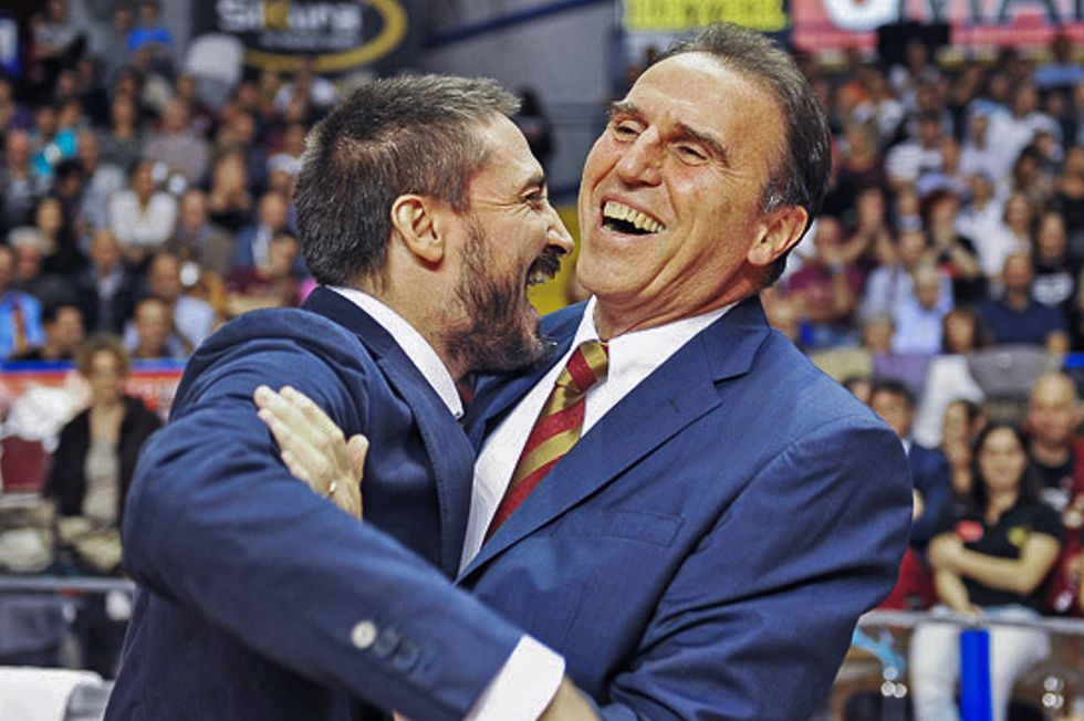 Serie A: Recalcati vince la sfida con l'allievo Poz. Sassari in testa