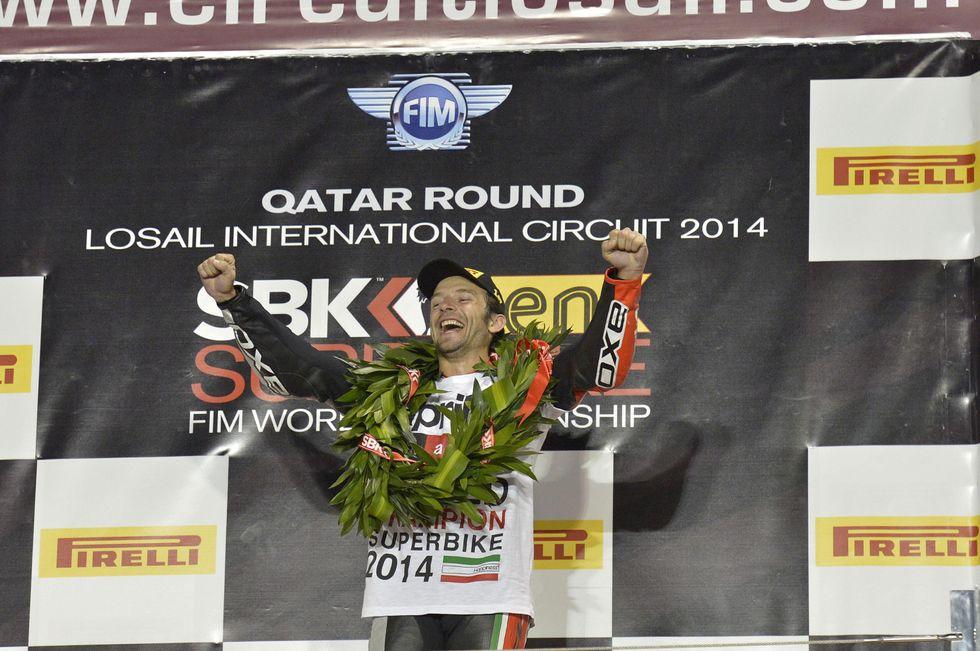 SBK 2014: Sylvain Guintoli, il Campione del Mondo della porta accanto