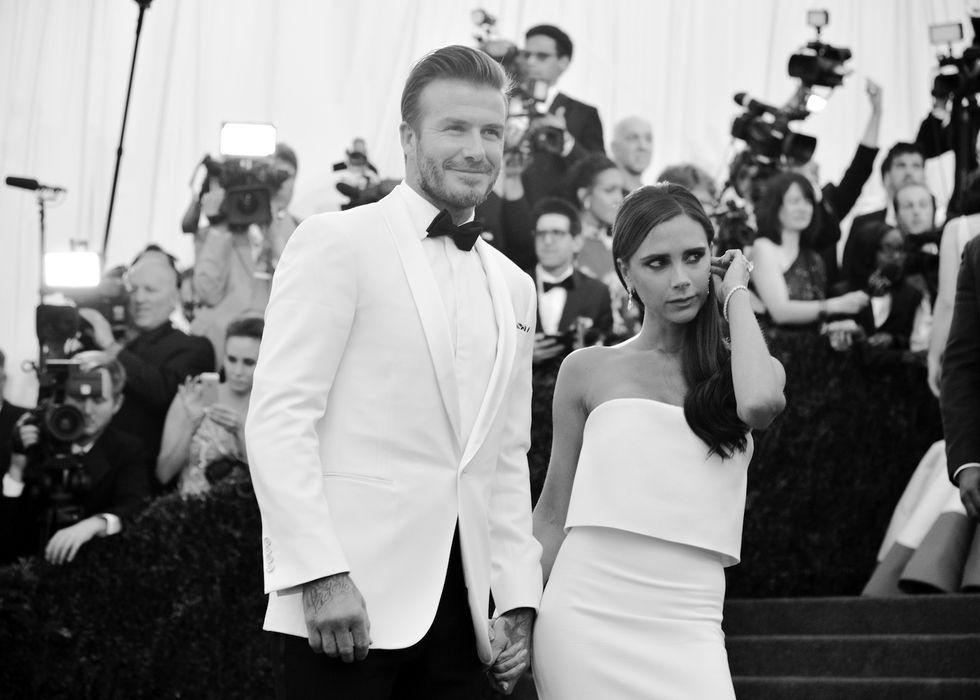 """Victoria Beckham: """"David, basta barba o non ti bacio più"""""""