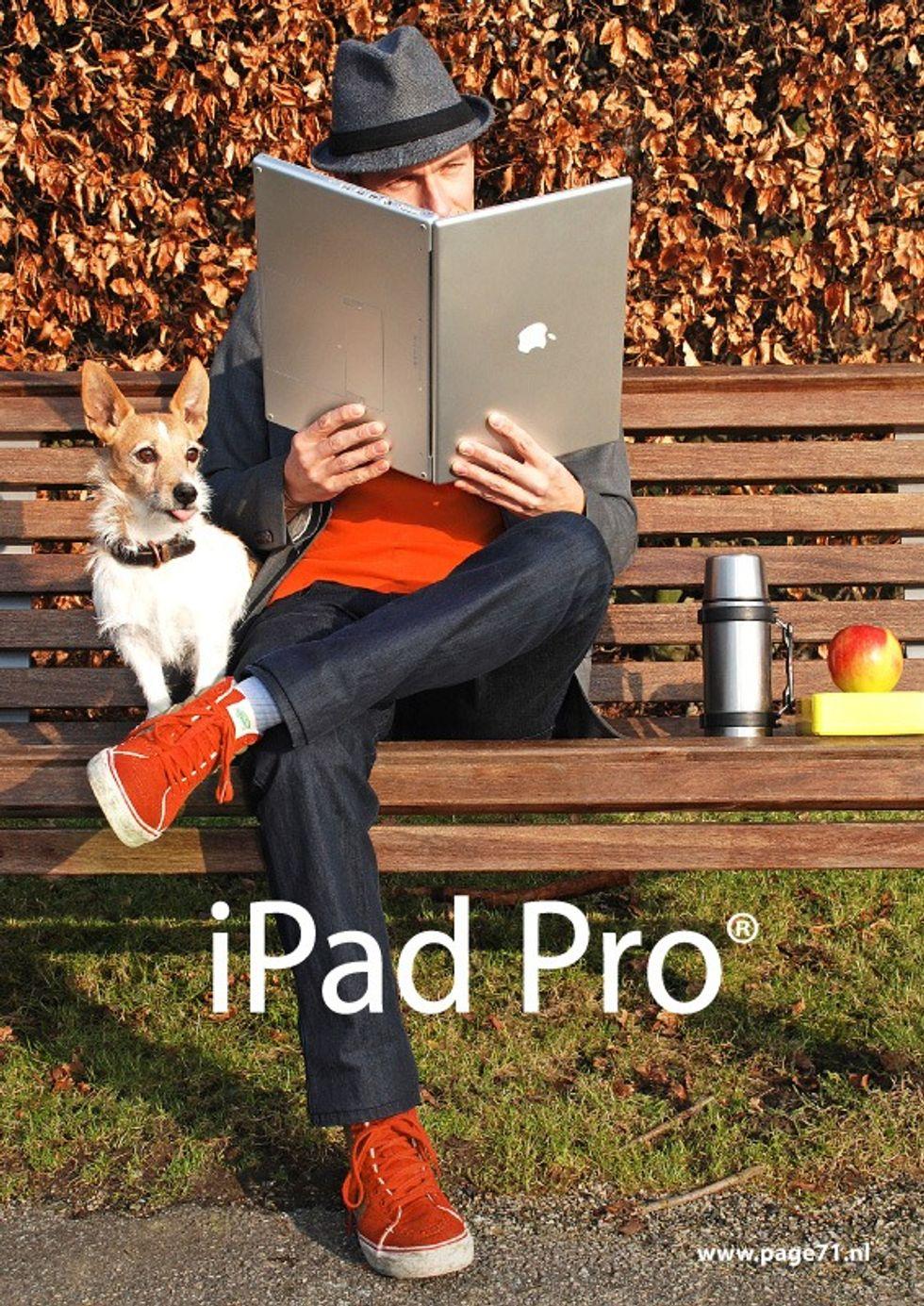 iPad Pro sarà la risposta di Apple al Surface Pro 3