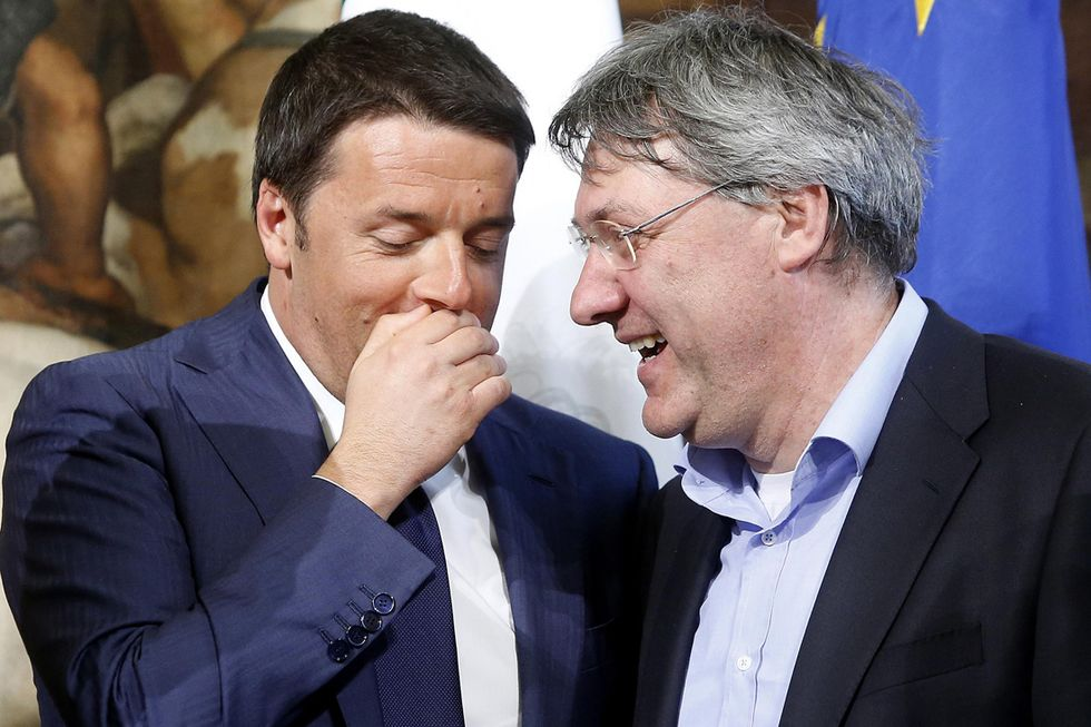 Renzi-Landini, storia di amore-odio
