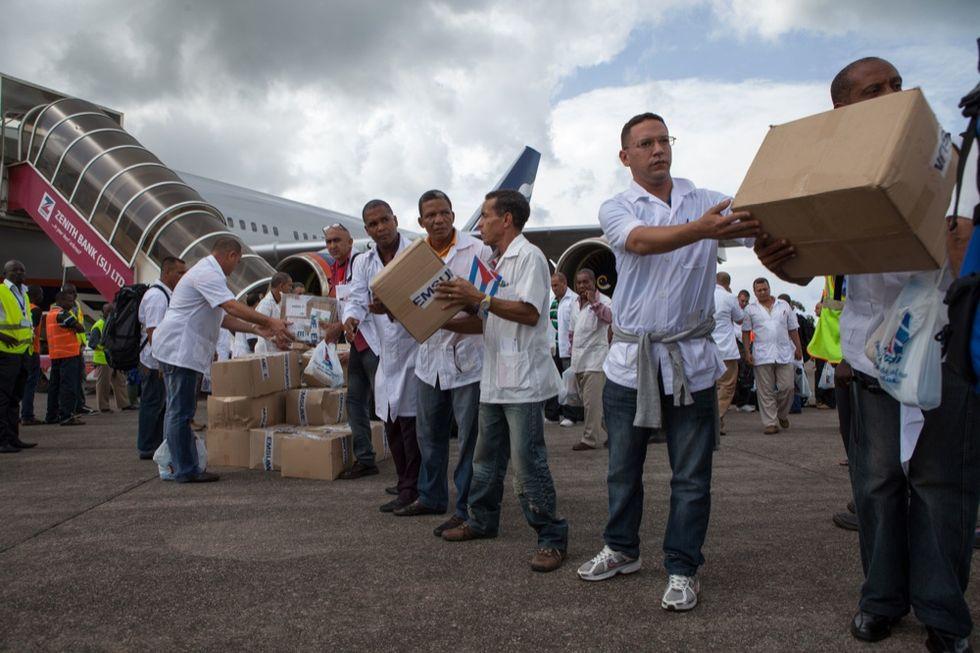 Cuba e la diplomazia di Ebola