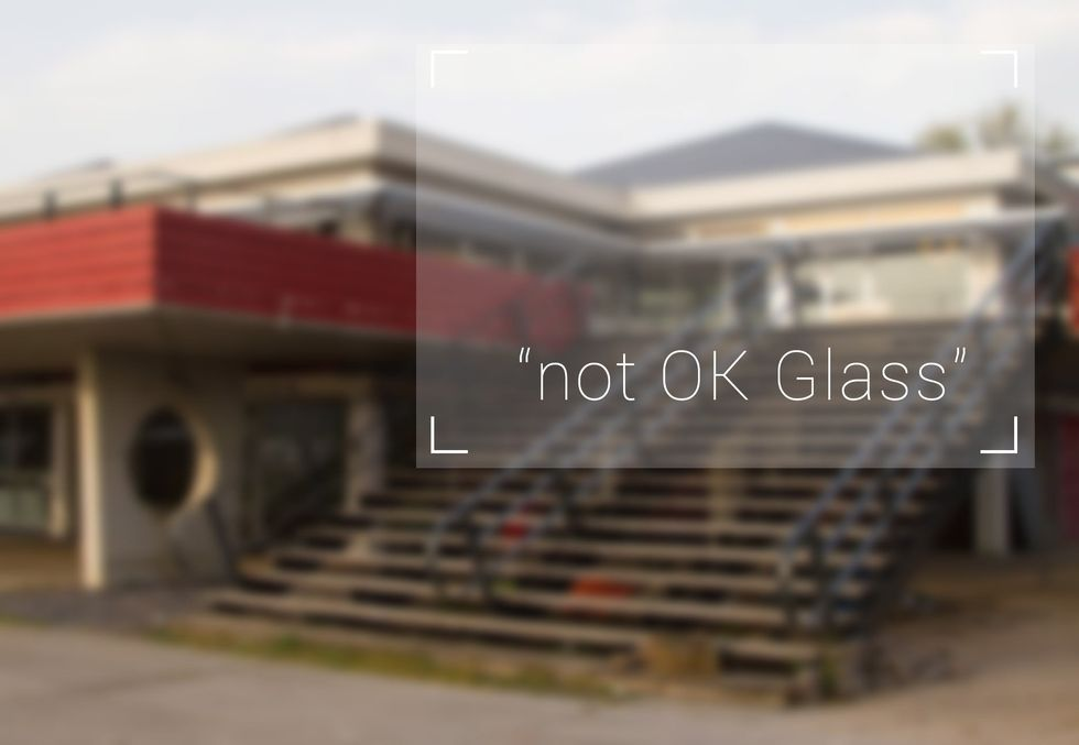 Superuomo a metà: i Google Glass limitano la vista