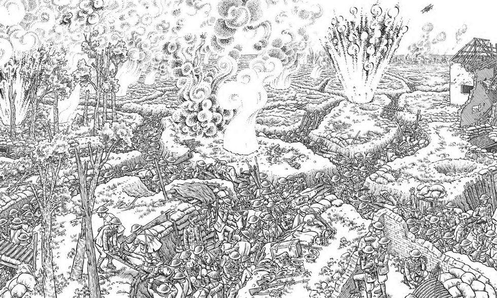 """""""La Grande Guerra"""" di Joe Sacco"""