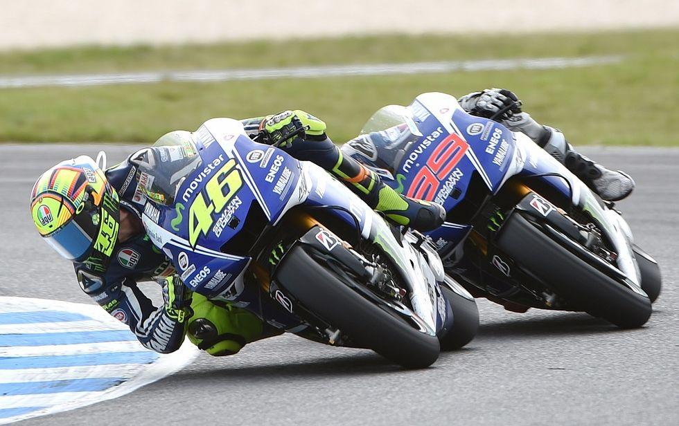 Gp Comunità Valenciana: Rossi e Lorenzo, tutto in una gara