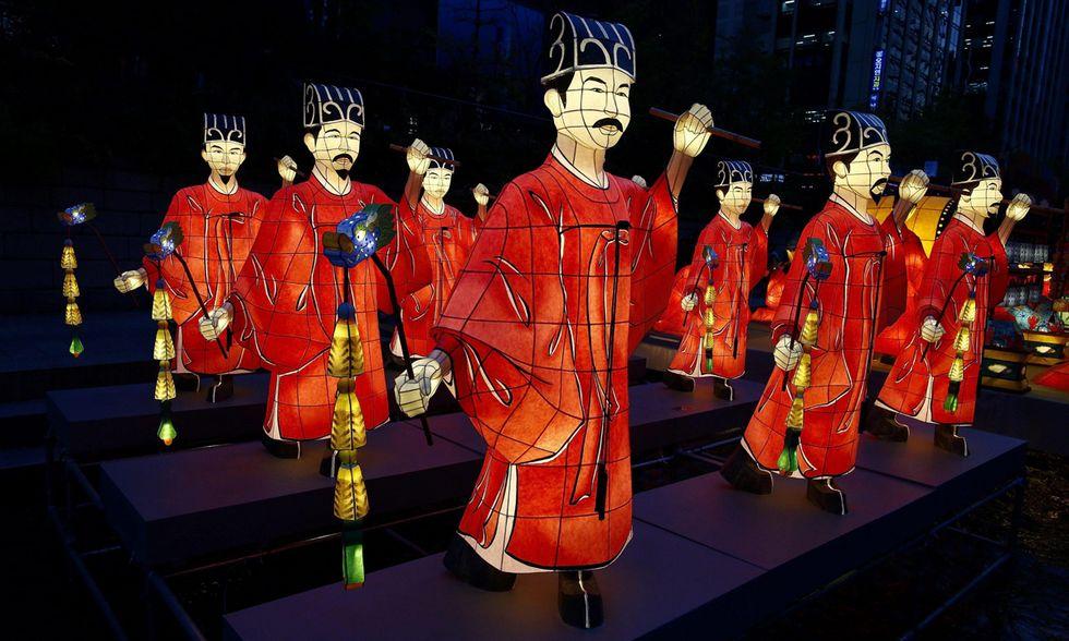Il festival delle lanterne a Seul