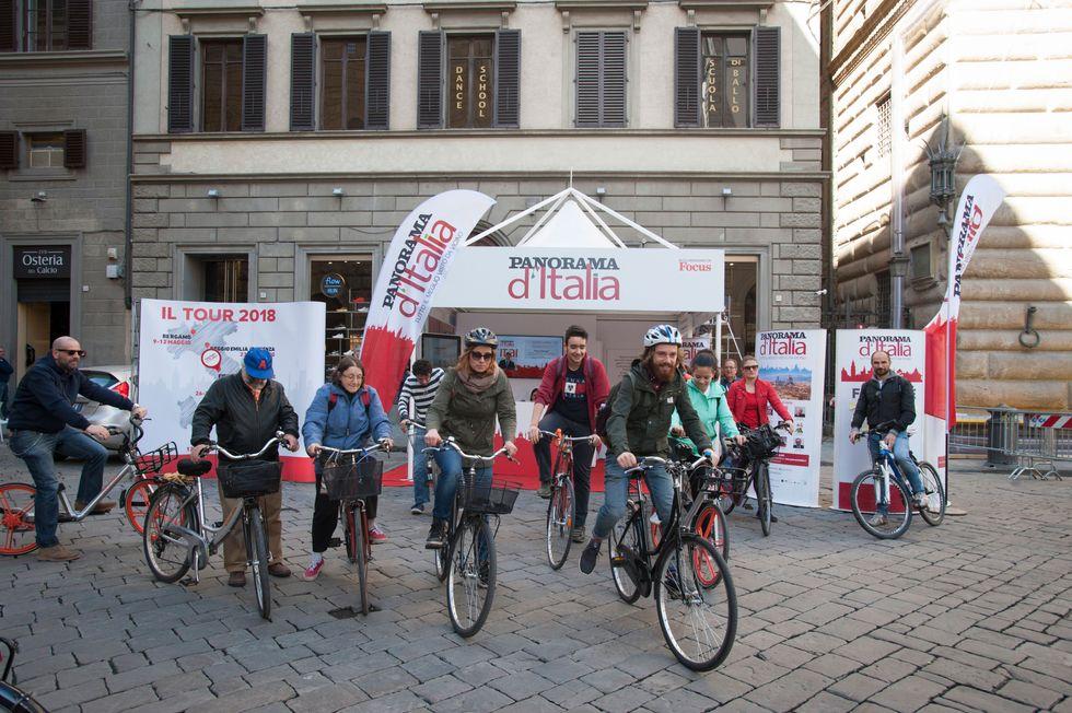 In bicicletta tra le bellezze di Firenze