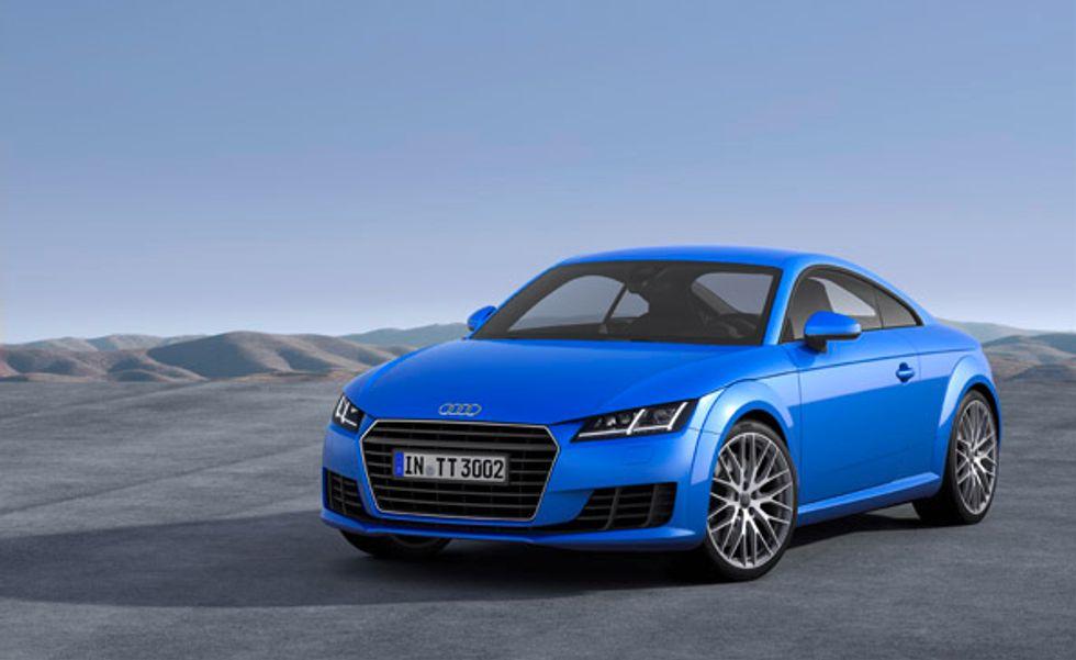 Audi TT: la coupé sportiva della casa tedesca si rifà il look
