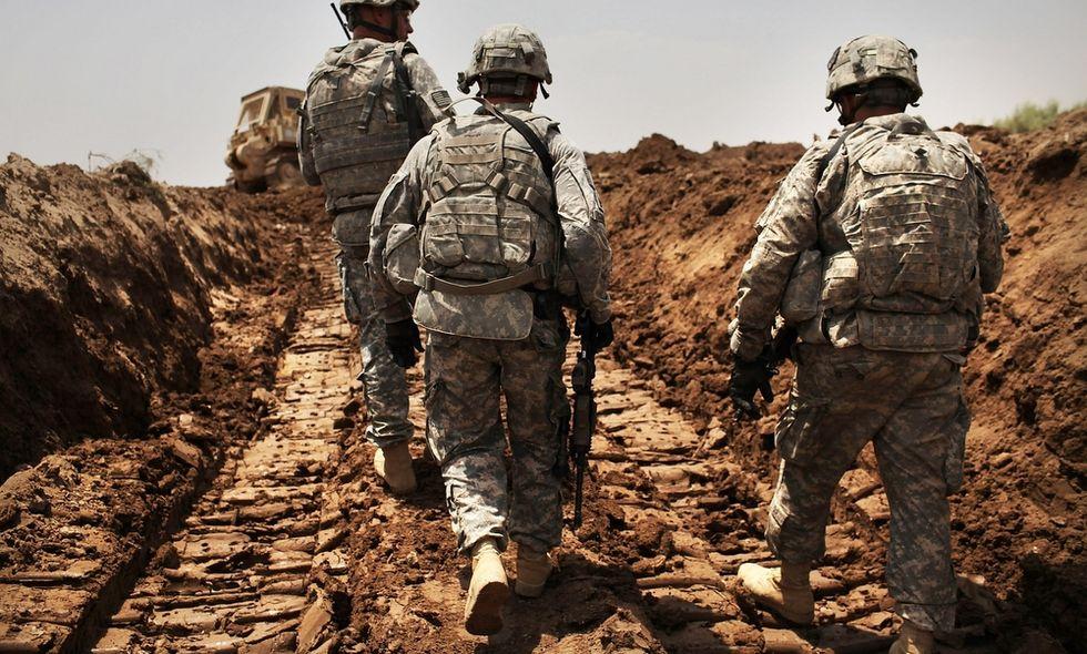 Iraq: i soldati Usa nella roccaforte dell'Isis