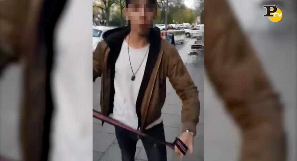 aggressione Berlino ragazzo ebreo video