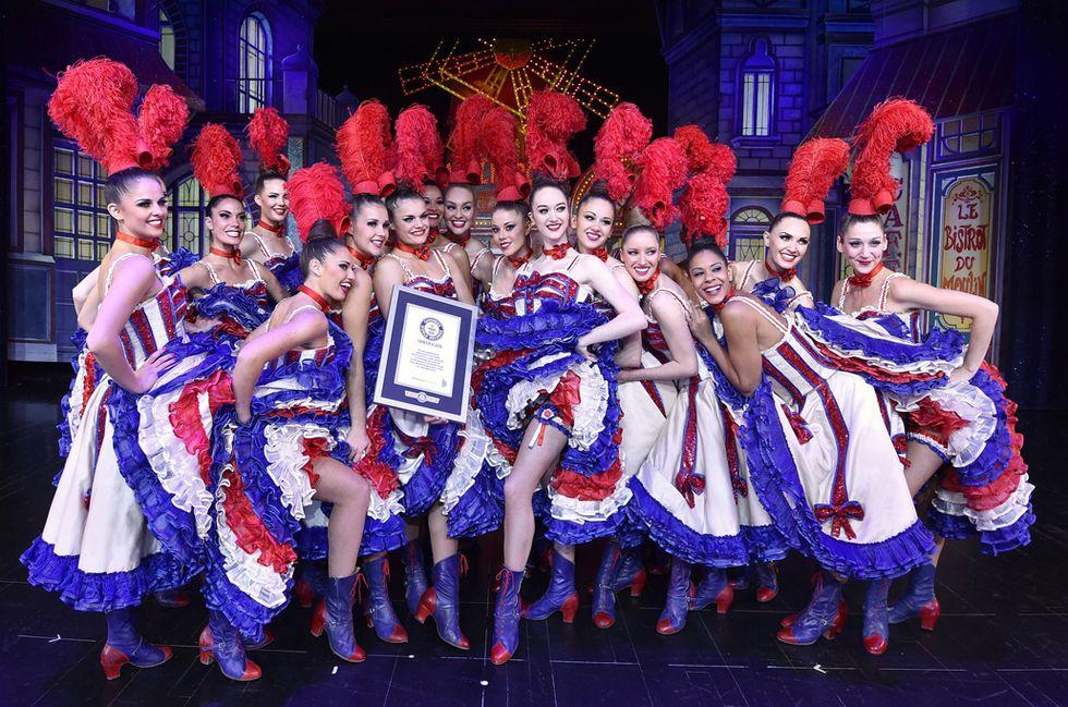 Il record delle ragazze del Moulin Rouge