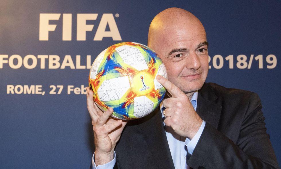 gianni infantino fifa mondiale club