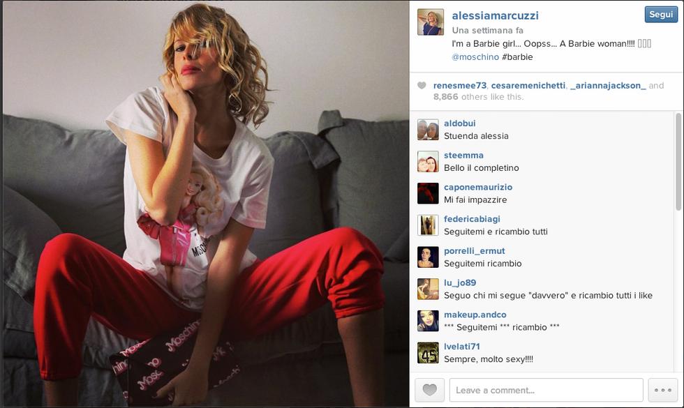 Alessia Marcuzzi è incinta?
