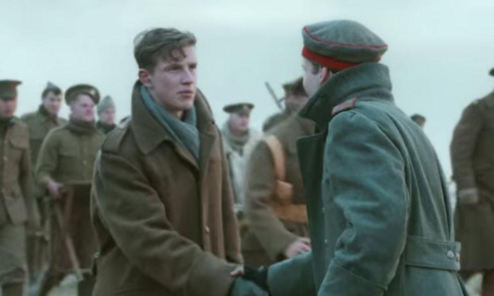 La tregua di Natale della Grande Guerra diventa uno spot